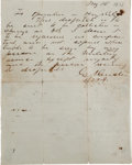 Autographs:Military Figures, George Custer Autograph Letter Signed ...