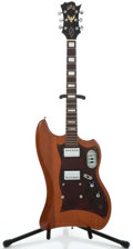 Musical Instruments:Electric Guitars, 1965 Guild Thunderbird Refinished Solid Body Electric Guitar#42945...