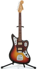 Musical Instruments:Electric Guitars, 1965 Fender Jaguar Sunburst Solid Body Electric Guitar #L68158...