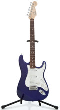 Musical Instruments:Electric Guitars, 1998 Fender Stratocaster MIM Cobalt Blue Solid Body Electric Guitar#MN8298450...