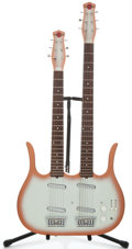 Musical Instruments:Electric Guitars, Jerry Jones Neptune Doubleneck Copper Burst Solid Body Electric Guitar ...