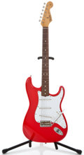 Musical Instruments:Electric Guitars, ESP Strat Copy- Parts Red Solid Body Electric Guitar ...