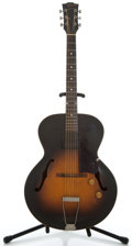 Musical Instruments:Electric Guitars, 1954 Gibson ES 125 Sunburst Archtop Electric Guitar #Y4400 24...
