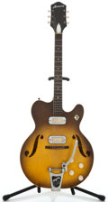 Musical Instruments:Electric Guitars, 1960's Harmony H 74 Sunburst Semi-Hollow Body Electric Guitar ...