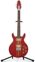 Musical Instruments:Electric Guitars, 1980's Court DC Red Solid Body Electric Guitar ...