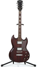 Musical Instruments:Electric Guitars, 1970's Guild Madeira Cherry Solid Body Electric Guitar ...
