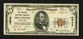 National Bank Notes:Maryland, Brunswick, MD - $5 1929 Ty. 2 The Peoples NB Ch. # 14044. ...