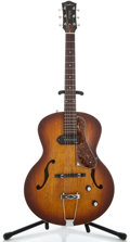 Musical Instruments:Electric Guitars, Godin 5th Avenue Sunburst Archtop Electric Guitar #031986002832...