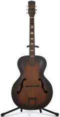 Musical Instruments:Acoustic Guitars, 1950's Carmencita Harmony Sunburst Archtop Acoustic Guitar ...