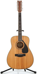Musical Instruments:Acoustic Guitars, 1980's Yamaha FG-612S Natural 12 String Acoustic Guitar #109090823...