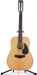 Musical Instruments:Acoustic Guitars, 1980's Suzuki F-120 Natural 12 String Acoustic Guitar #770402...