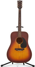 Musical Instruments:Acoustic Guitars, 1974 Gibson J-45 Sunburst Acoustic Guitar #972593...