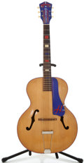 Musical Instruments:Acoustic Guitars, 1950's Harmony S-40 All American Natural Archtop Acoustic Guitar ...
