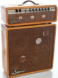 Musical Instruments:Amplifiers, PA, & Effects, 1970's Legend Rock (N) Roll 50 Natural Guitar Amplifier #02242...