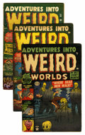 Golden Age (1938-1955):Horror, Adventures Into Weird Worlds Group (Atlas, 1952-53).... (Total: 6Comic Books)