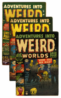 Adventures Into Weird Worlds Group (Atlas, 1952-53).... (Total: 6 Comic Books)