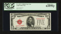 Small Size:Legal Tender Notes, Fr. 1527* $5 1928B Legal Tender Note. PCGS Choice New 63PPQ.. ...