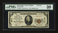 National Bank Notes:West Virginia, Mannington, WV - $20 1929 Ty. 1 The First NB Ch. # 5012. ...