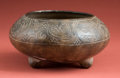 American Indian Art:Pottery, Early Maya Bowl with Zoomorphs...