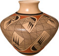 American Indian Art:Pottery, A HOPI POLYCHROME JAR. Clinton Polacca Nampeyo. c. 1990...