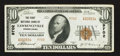 National Bank Notes:Pennsylvania, Lawrenceville, PA - $10 1929 Ty. 2 The First NB Ch. # 9702. ...