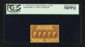 Fractional Currency:First Issue, Fr. 1281 25¢ First Issue PCGS Choice About New 58PPQ.. ...