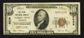 National Bank Notes:Tennessee, Union City, TN - $10 1929 Ty. 1 The Third NB Ch. # 9239. ...