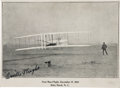 Autographs:Inventors, Orville Wright Signed Photo card ...