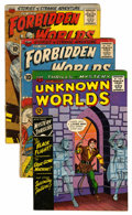 Silver Age (1956-1969):Horror, Forbidden Worlds and Unknown Worlds Group (ACG, 1960s) Condition:Average VG.... (Total: 9 Comic Books)