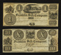 Obsoletes By State:Ohio, Franklin, OH- Franklin Silk Company $1. Franklin, OH- Franklin SilkCompany $10. ... (Total: 2 notes)