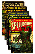 Golden Age (1938-1955):Horror, Spellbound Group (Atlas, 1952-54).... (Total: 5 Comic Books)