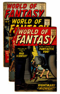Silver Age (1956-1969):Horror, World of Fantasy Group (Atlas, 1958-59).... (Total: 8 Comic Books)