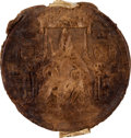 Autographs:Non-American, Great Seal of James I, ca. 1615....