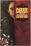 """Books:Signed Editions, Stephen King. Carrie. New York: Doubleday & Company,Inc., 1974. First edition, first impression, with code """"P6"""" in ..."""