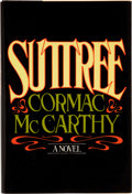 Books:First Editions, Cormac McCarthy. Suttree. New York: Random House, 1979.First edition. Octavo. 471 pages. Square stain on front ...