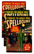 Golden Age (1938-1955):Horror, Spellbound #5, 10, and 11 Group (Atlas, 1952-53).... (Total: 3Comic Books)