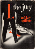 Books:Mystery & Detective Fiction, Mickey Spillane. I, the Jury. E. P. Dutton & Company,1947. First edition. Laid in is a bookplate signed by Mickey...
