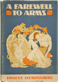 "Books:First Editions, Ernest Hemingway. A Farewell To Arms. New York: CharlesScribner's Sons, 1929. First edition, first state with ""Kath..."
