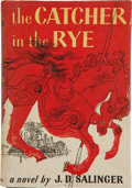 Books:First Editions, J. D. Salinger. The Catcher in the Rye. Boston: Little,Brown and Company, 1951. First edition stated, in first issu...