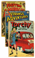 Golden Age (1938-1955):Miscellaneous, Comic Books - Assorted Golden Age Comics Group (Various, 1949-55) Condition: Average GD-.... (Total: 6 Comic Books)
