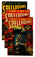 Golden Age (1938-1955):Horror, Spellbound #13, 15, and 16 Group (Atlas, 1953).... (Total: 3 ComicBooks)