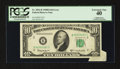 Error Notes:Attached Tabs, Fr. 2014-B $10 1950D Federal Reserve Note. PCGS Extremely Fine 40.....