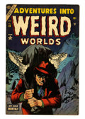 Golden Age (1938-1955):Horror, Adventures Into Weird Worlds #28 (Atlas, 1954) Condition: FN....