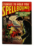Golden Age (1938-1955):Horror, Spellbound #4 (Atlas, 1952) Condition: FN....
