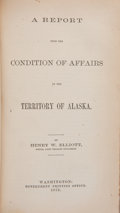 Books:Signed Editions, [Hannibal Hamlin]. Seal Fisheries in Alaska, 44th Congress,First Session, House of Representatives, Ex. Doc. No. 83...