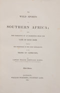 Books:Sporting Books, Captain William Cornwallis Harris. The Wild Sports of SouthernAfrica. London: William Pickering, 1841. Third editio...