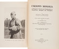 Books:Sporting Books, Douglas Carruthers. Unknown Mongolia. A Record of Traveland Exploration in North-West Mongolia and Dzungaria... (Total: 2Items)