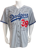 Autographs:Jerseys, 1995 National League All-Stars Signed Todd Worrell Game Jersey....