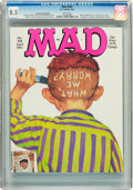 Magazines:Humor, Mad #302 Hussein Asylum Edition (EC, 1991) CGC VF+ 8.5 Whitepages....