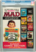 Magazines:Mad, Worst From Mad #4 (EC, 1961) CGC NM 9.4 White pages....